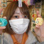 ふんわり毛糸ストラップ(^◇^)